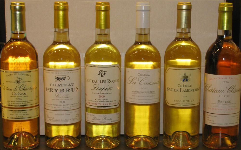 grand vin blanc moelleux